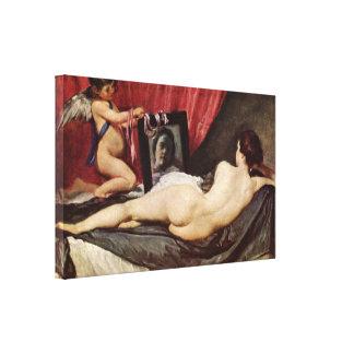 Diego Velazquez - Toilet of Venus Stretched Canvas Prints