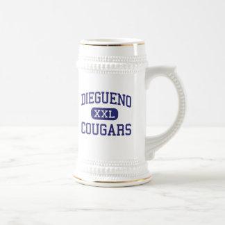 Diegueno - Cougars - Junior - Encinitas California Beer Steins