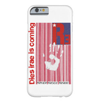 Dies irae - Refuses Resist Revolt American Barcode Barely There iPhone 6 Case