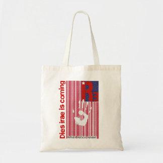 Dies irae - Refuses Resist Revolt American Barcode Budget Tote Bag