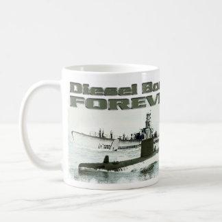 Diesel Boats Forever Basic White Mug