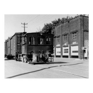 Diesel Engine in Algonac Michigan Postcard