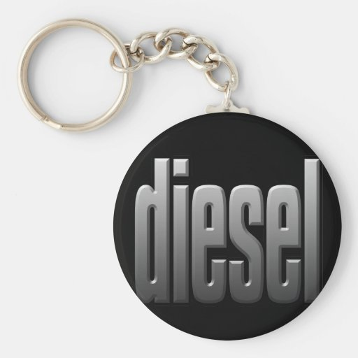 DIESEL. hardcore, strength. tough. muscle. Key Chain