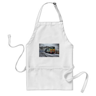 Diesel Locomotive Gifts for Train Lovers Aprons