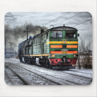 Diesel Locomotive Gifts for Train Lovers Mouse Pad