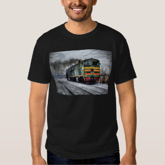 Diesel Locomotive Gifts for Train Lovers Tee Shirt