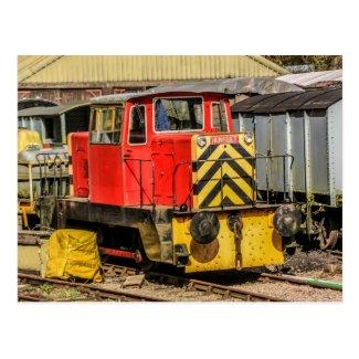 Diesel Locomotive Postcard