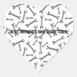 Diesel Mechanics Have Bigger Tools Heart Sticker
