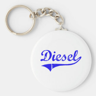 Diesel Surname Classic Style Keychains
