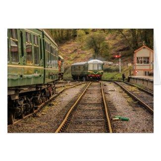 Diesel Train Card