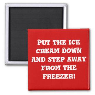 Diet helper 2 fridge magnet