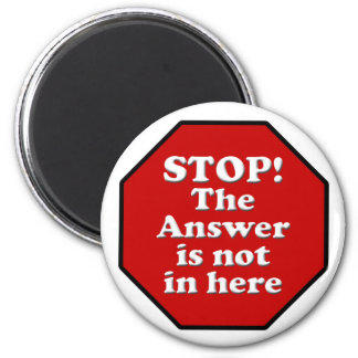Diet Motivation Magnet, Stop Sign Refrigerator 6 Cm Round Magnet