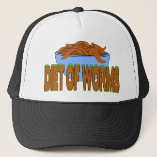 Diet of Worms Trucker Hat