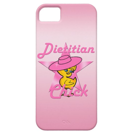 Dietician Chick #8 iPhone 5 Cases