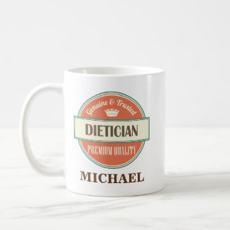 Dietician Personalized Office Mug Gift