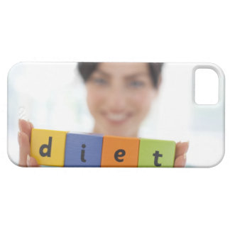 Dieting, conceptual image. iPhone 5 covers