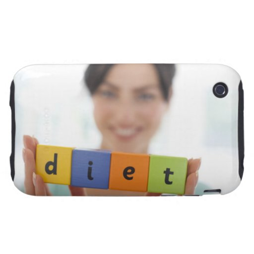 Dieting, conceptual image. iPhone 3 tough cover