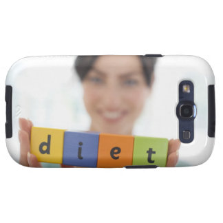Dieting, conceptual image. samsung galaxy SIII cover