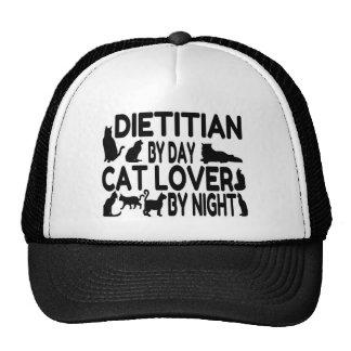 Dietitian Cat Lover Trucker Hats