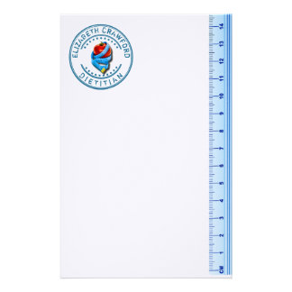 Dietitian Dietologist Doctor With Measuring Tape Customised Stationery