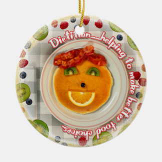 DIETITIAN MOTTO CHRISTMAS ORNAMENT - BETTER FOOD