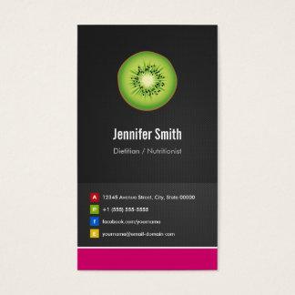 Dietitian / Nutritionist Diet Creative Innovative Business Card