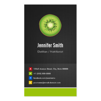 Dietitian / Nutritionist Diet Creative Innovative Pack Of Standard Business Cards