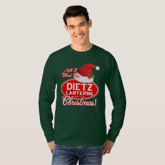 DIETZ LANTERNS CHRISTMAS LOGO SHIRT