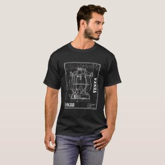 Dietz Vesta line drawing company shirt invert