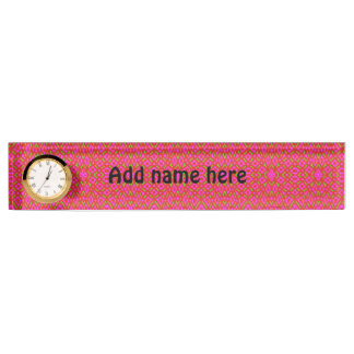 Different abstract pattern nameplate