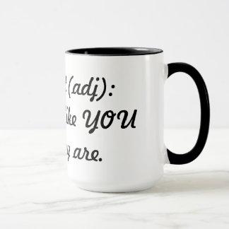 Different (adj) mug