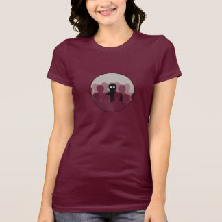 Different And Alone In Crowd Womens T-Shirt