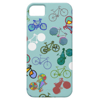 different bicycles cool pattern iPhone 5 case
