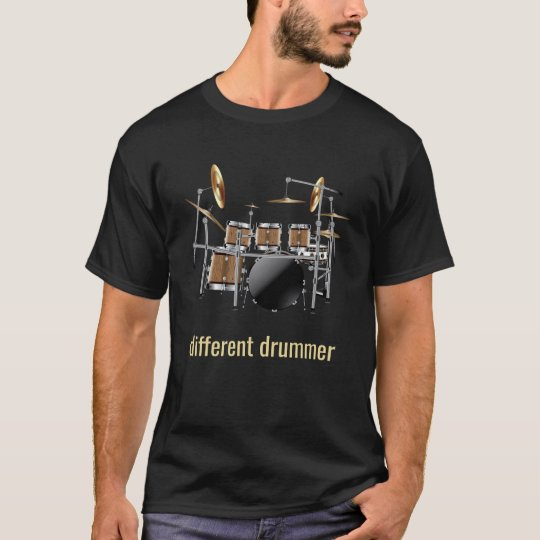 Different Drummer Drum Set T-Shirt
