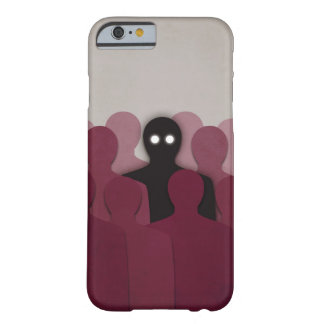 Different In People Crowd Barely There iPhone 6 Case