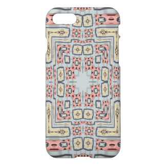 Different modern coloured pattern iPhone 7 case