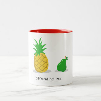 Different Not Less - Mug (Red)