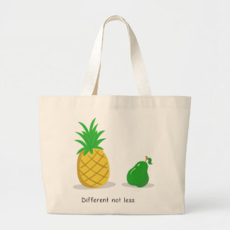 Different Not Less - Tote Bag Large