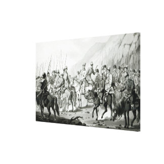 Different Tribes of Russian Cossacks Gallery Wrapped Canvas