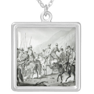 Different Tribes of Russian Cossacks Silver Plated Necklace