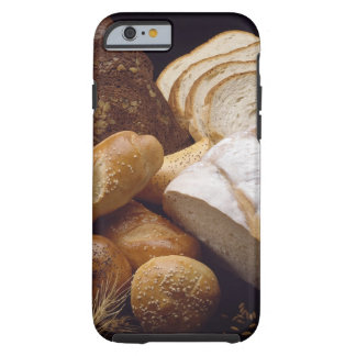 Different types of artisan bread tough iPhone 6 case