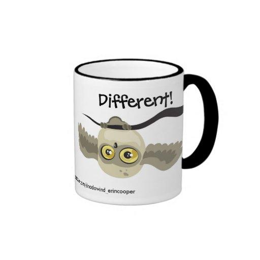 Different! Upside Down Owl Mug
