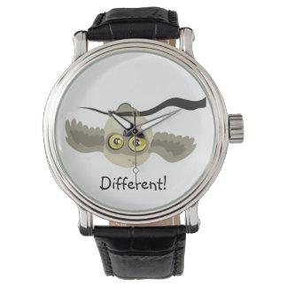 Different! Upside Down Owl ~wrist watch