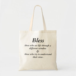 Different windows tote bag