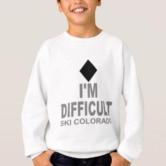 Difficult Ski Colorado Sweatshirt