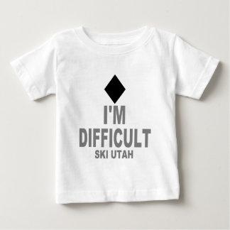 Difficult Ski Utah Baby T-Shirt