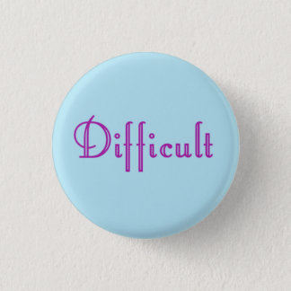 Difficult Woman Logo Button