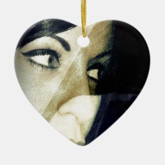 Diffident Ceramic Heart Decoration