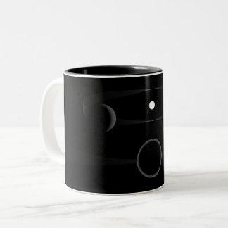 Diffraction of a solar system mug