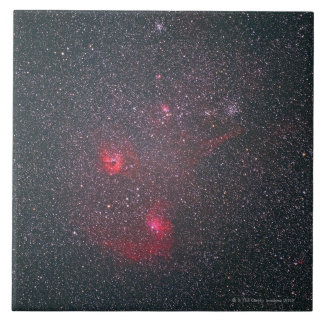 Diffuse Nebula 2 Large Square Tile